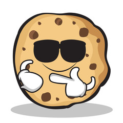 Super cool sweet cookies character cartoon