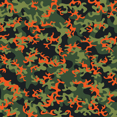 Background of camouflage pattern