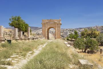 Roman Arch in Jordan