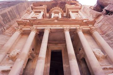 Treasury of Petra height