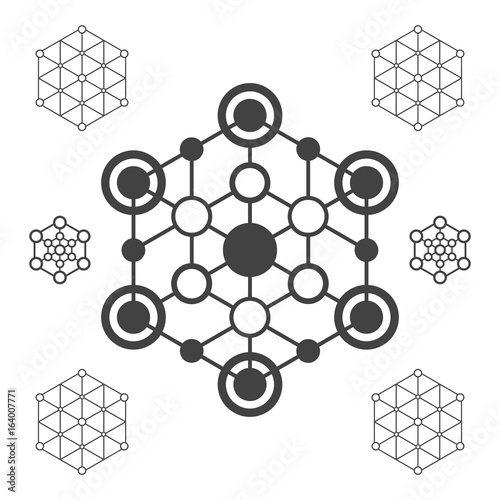 abstract hexagon signs hexagon figure template stock image and