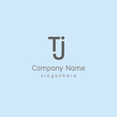 Letter TJ element logo design