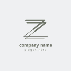 Letter Z element logo design