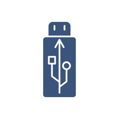 USB,Flash Card Icon