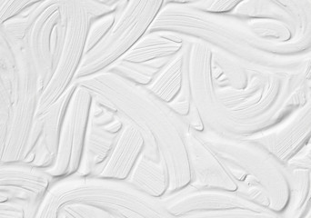 The texture is white. Background for a postcard with a volumetric drawing of paints.