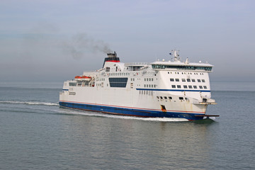 Ferry in the English Channel
