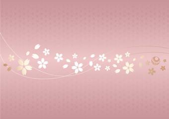 日本の古典柄、吉祥文様と桜