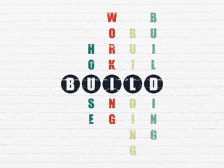 Constructing concept: Build in Crossword Puzzle