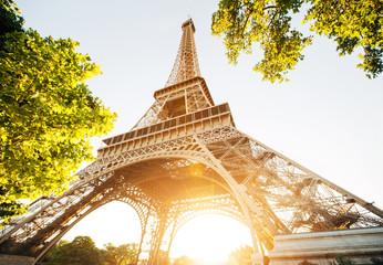 Eiffel tower, Paris. France. Fototapete