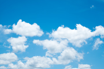 soft cloud with blue sky for backdrop background