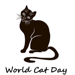 Happy Cat Day. World Cat Day.