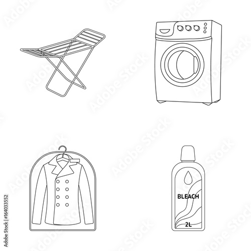 Dryer Washing Machine Clean Clothes Bleach Dry Cleaning Set