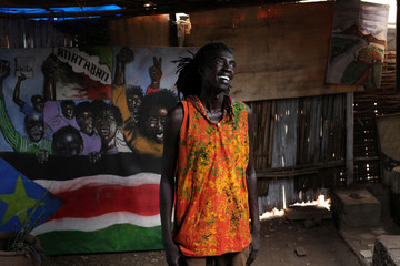 The Wider Image: South Sudanese youth turn to art to push for peace
