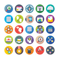 Seo and Digital Marketing Vector Icons 14