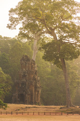 Suor Prat Tower, Angkor Wat, Cambodia