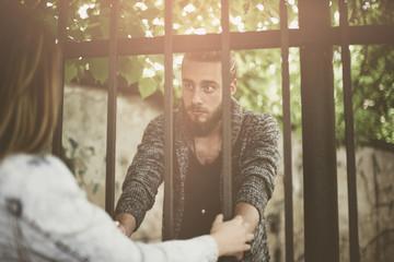 Prison visit. Violence.  Darling it is wrong!