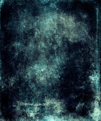 Abstract blue grunge watercolor texture background