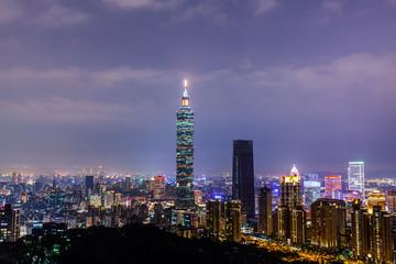 this is taiwan  taipei 101 nightshot is very beautiful