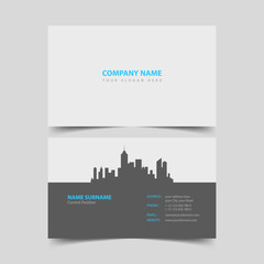 Realtor Business card design template.