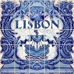 Lisbon Ceramic Tile Vector Lisboa Souvenir