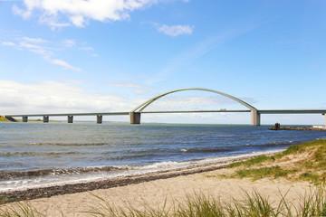 Bridge to the holiday island Fehmarn, Baltic Sea Germany