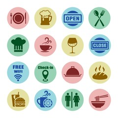 food shop,restaurant,cafe icon