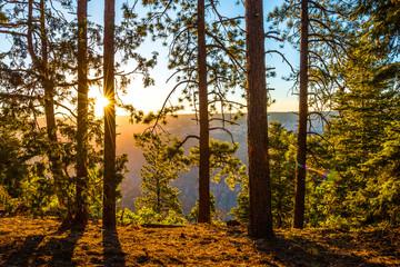 Sunrise at the North Rim, Grand Canyon, Arizona