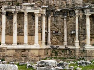 Roman archaelogical site in Alanya, Turkey