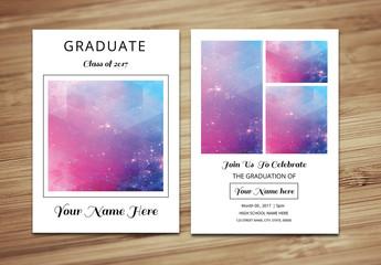 Graduation Announcement Layout