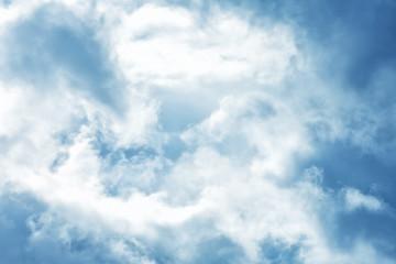 Bluish Clouds Background