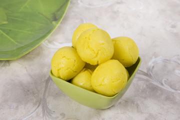 Rajbhog  or Bengali Rasgulla or Cham Cham, Indian Sweet
