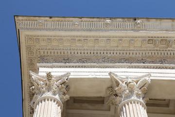 Nîmes maison carrée Monument antique Romain