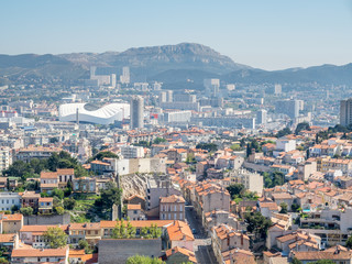 Cityscape of Marseille