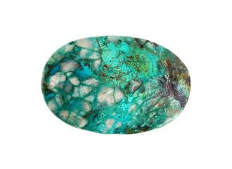Gemstone  Israeli turquoise -  chrysocolla