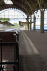 Platform of the old train station