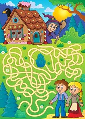 Maze 30 with Hansel and Gretel theme