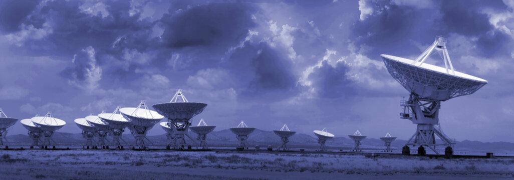 VLA Radio Telescope in New Mexico