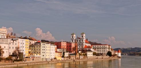 Passau - incoming storm