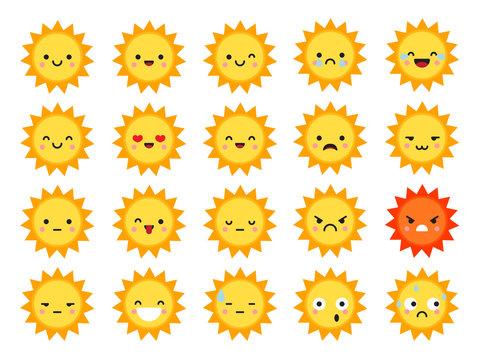 Summer sun emoji