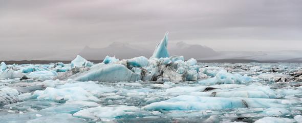Iceberg galleggianti, Islanda
