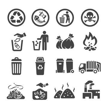 waste,garbage icon