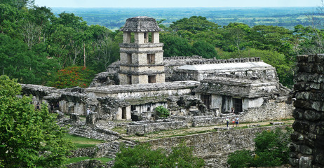 Temple Maya Palenque