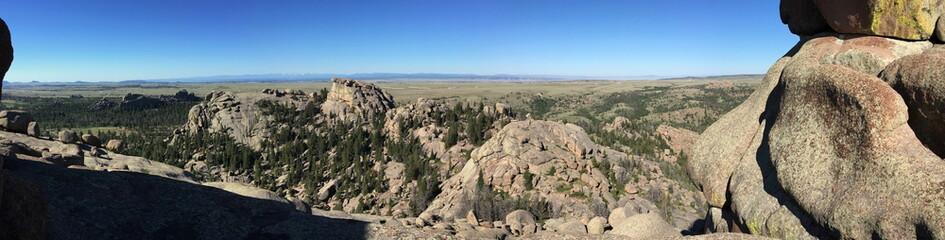 Vedauwoo climbing area in Wyoming