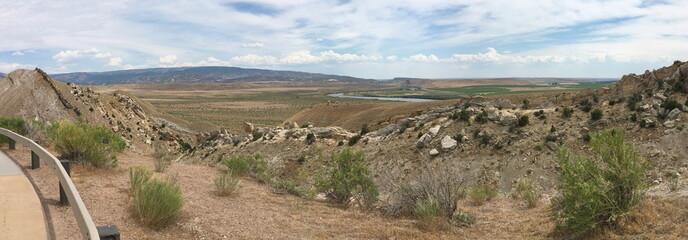 View of Dinosaur National Monument, Utah