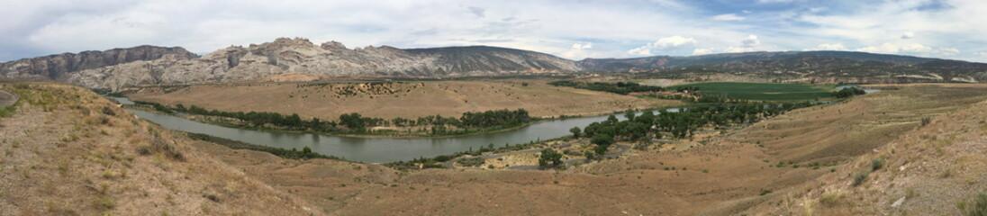 Green River panorama in Dinosaur National Monument, Utah