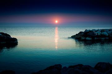 The beauty of the Adriatic Sea. Fano Italy