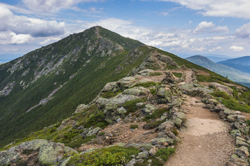 Franconia Ridge Trail in New Hampshire