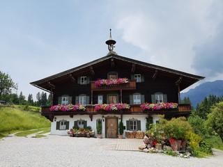 Bauernhaus, Tirol, Ellmau, Osterreich