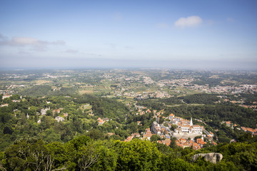 Landscape of the city of Sintra