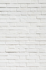 pastel white background of old vintage brick wall